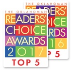 Yates Roofing & Construction is a Readers' Choice Awards Top 5 selection for 2016 and 2017