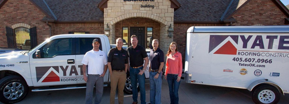 The Yates Roofing and Construction Team. The best roofing contractor and roofers in OKC, Tulsa, Yukon, Norman, Edmond, Piedmont, and more.