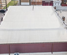 Commercial roofing in Oklahoma City by Yates Roofing and Construction