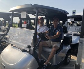 Hole In One Spotters: Chris Reinke and Mark Baker