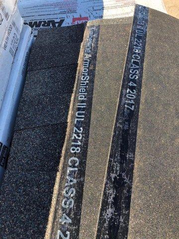 GAF Timberline ArmorShield impact resistant shingles